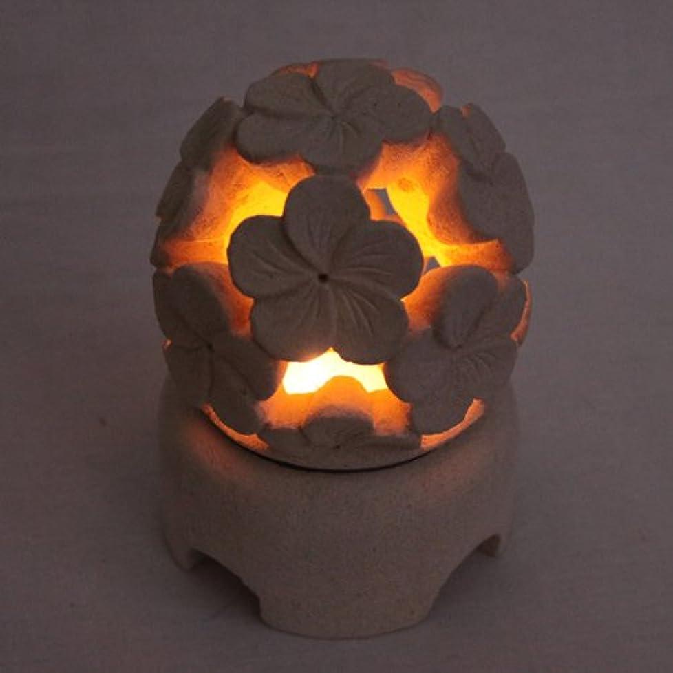 受動的崇拝しますシュガーライムストーンで出来たハンドメイドの丸いキャンドルホルダー