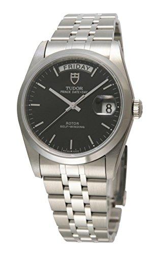 [チュードル]Tudor 腕時計 プリンス デイトデイ ブラックダイヤル 自動巻き 76200BK メンズ 【並行輸入品】