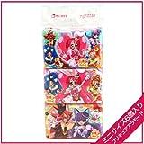 キラキラ☆プリキュアアラモード キャラクターポケットティッシュ(ミニ6P)×3個セット