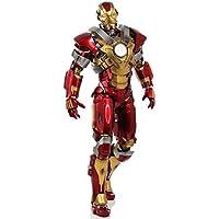 ムービー?マスターピース アイアンマン3 アイアンマン?マーク17(ハートブレイカー) 1/6スケール プラスチック製 塗装済み可動フィギュア