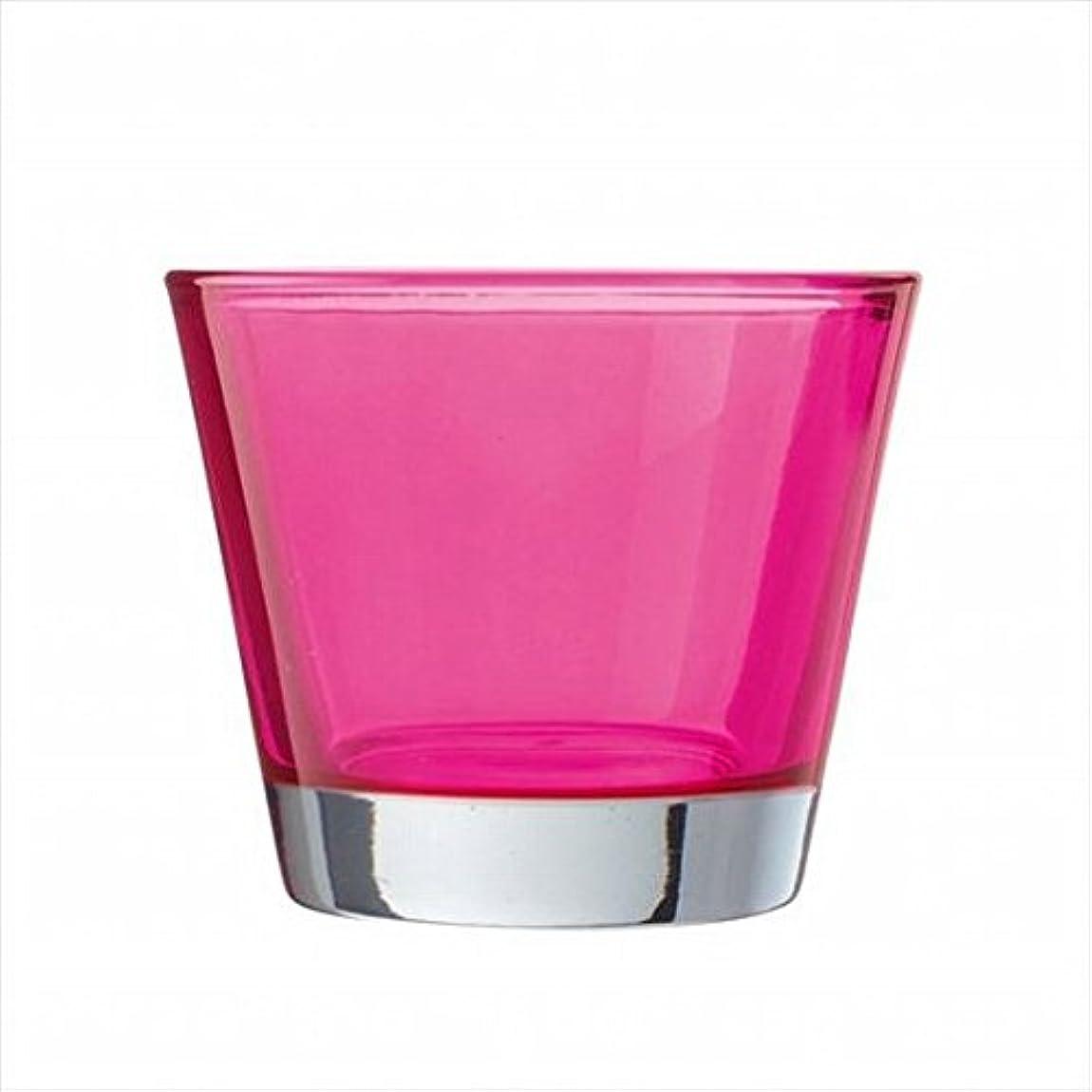 山腰ムスタチオkameyama candle(カメヤマキャンドル) カラリス 「 ピンク 」 キャンドル 82x82x70mm (J2540000PK)