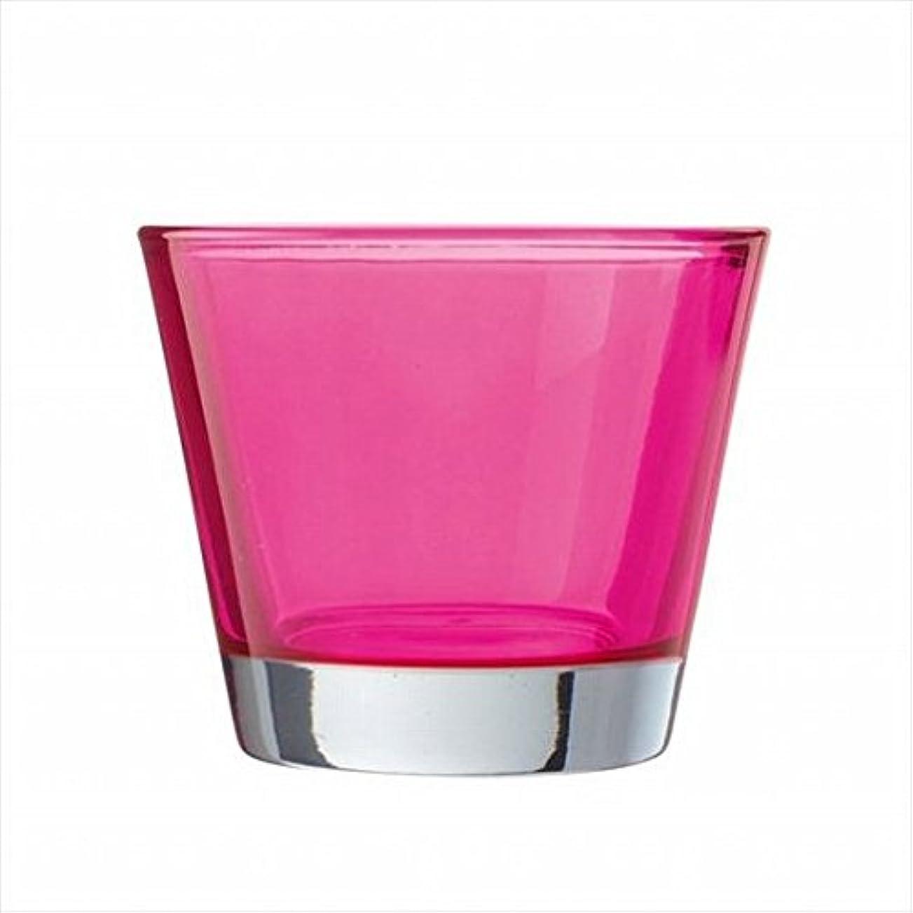 入札口そよ風kameyama candle(カメヤマキャンドル) カラリス 「 ピンク 」 キャンドル 82x82x70mm (J2540000PK)