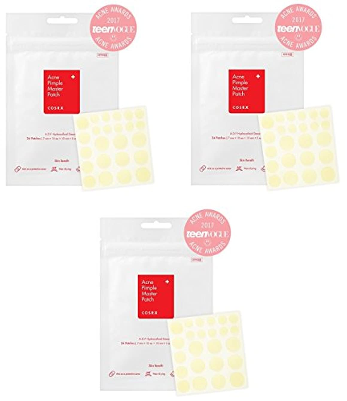 自治セイはさておきサバントCOSRX アクネ ピンプル マスターパッチ 3枚 (Acne Pimple Patch 3pcs) 海外直送品