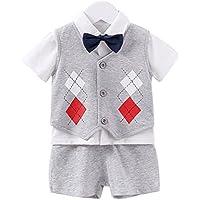 d49d57318ea27 エルフ ベビー(Fairy Baby) ベビーフォーマル 男の子スーツ半袖 ...