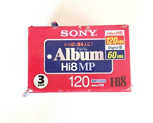 SONY  8ミリビデオカセット 120分 Hi8MPタイプ3巻パック 3P6-120HMPL
