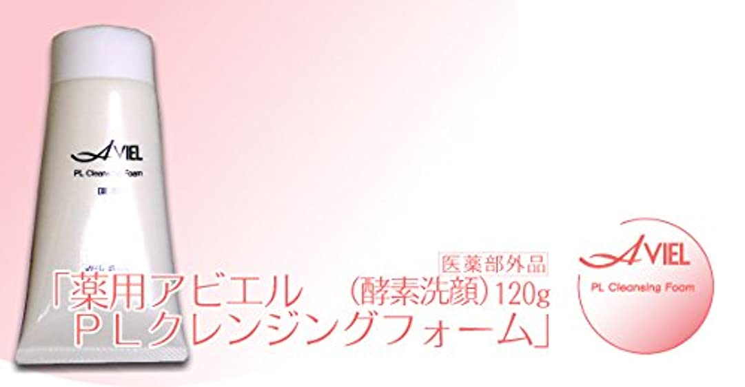 神秘吸収卒業黒麗(KOKUREI) 薬用アビエル PLクレンジングフォーム (酵素洗顔) 120ml