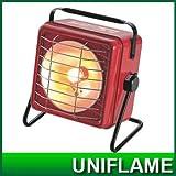 ユニフレーム(UNIFLAME)ハンディガスヒーター ワームII RED