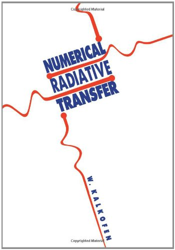 Numerical Radiative Transfer