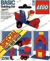 ヴィンテージLegoトライアルサイズパッケージセット# 159833ピースミニセットwith Mini Figure