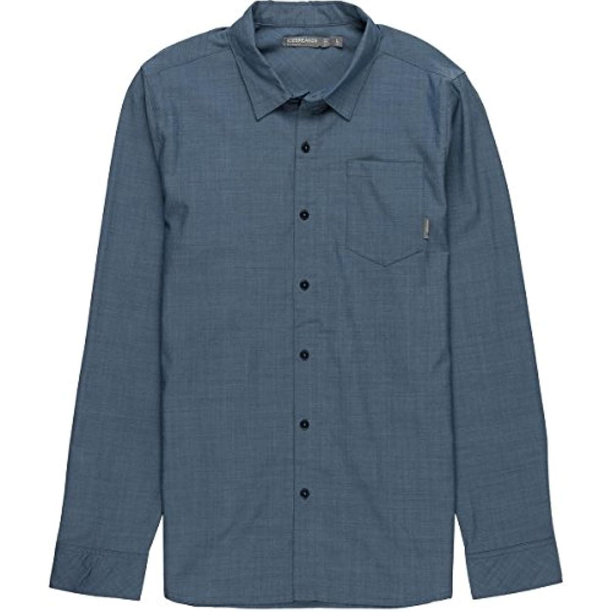 人生を作る囲い公園アイスブレーカー トップス シャツ Departure II Shirt - Long-Sleeve - Men's Largo Heat 10j [並行輸入品]