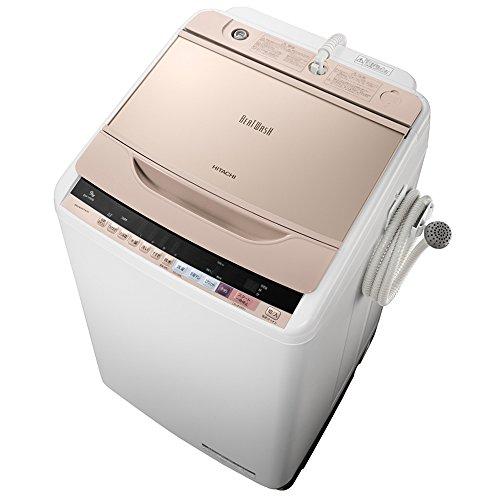 日立 全自動洗濯機 ビートウォッシュ 9kg シャンパン BW...