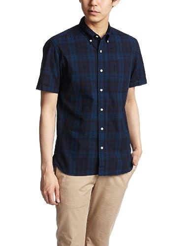 Short Sleeve Buttondown Shirt 38-01-0297-139: Black Watch
