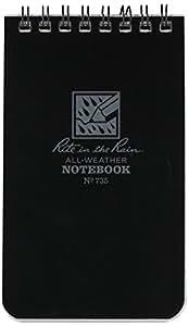 Rite in the rain ライトインザレイン Rite in the Rain 3X5inサイズ ノートブックブラック