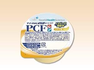 アイソカル・ジェリー PCF(ピーシーエフ) バナナ味 66g(80kcal)×24個/箱 【栄養機能食品】 ネスレ