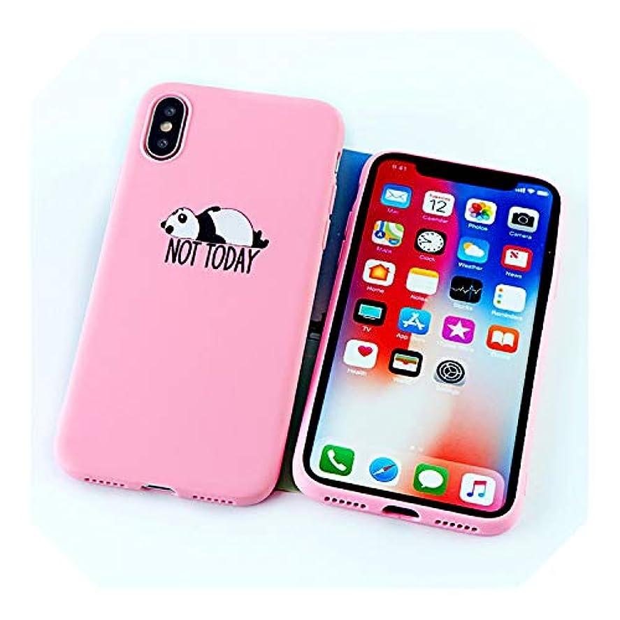 時系列バット共和党人気の新しいかわいいパンダ電話ケースiphone 11 8 7 6 sプラスプロX XSマックスXRケースおかしいクマソフトシリコーンTPUシェルバックカバーアクセサリー-8631-pink-For iPhone 6 6s
