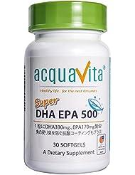 acquavita(アクアヴィータ) スーパーDHAEPA500 30粒