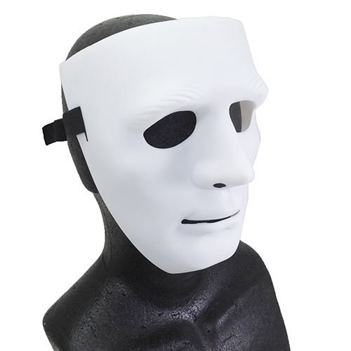 Cosplay mask white mask / white octanicorporation fancy dress accessory party general toy store