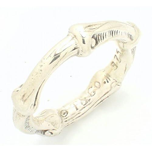 [ティファニー] TIFFANY&Co. バンブー リング 指輪 シルバー SV925 #8