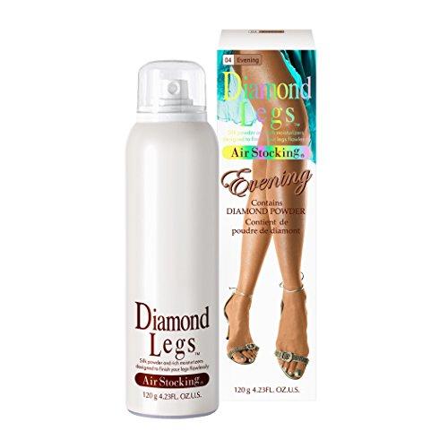 [褐色肌][DL04] エアーストッキング ダイヤモンドレッグス ブロンズ / Diamond Legs 120g Evening