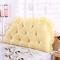 Nanwu ベッドサイドの読書枕背部クッション、ソファーマットクッション100%綿背もたれ位置決めサポート枕 (Color : J, サイズ : 190x70x15cm(75x28x6inch))