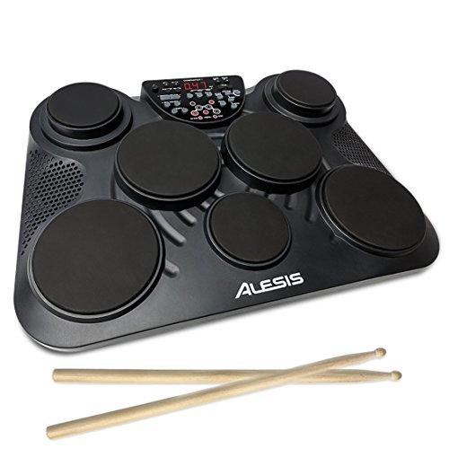 Alesis ポータブル電子ドラムキット コーチ機能搭載 フットペダル・ドラムスティック付き CompactKit7