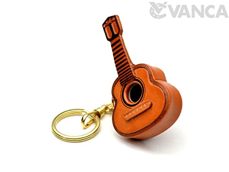革物語 KH キーホルダー ギター VANCA CRAFT (日本製 職人の手作り)
