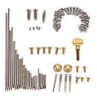 sharprepublic サクソフォン修理部品ネジ サックスネジ 木管楽器 サックス修復パーツ
