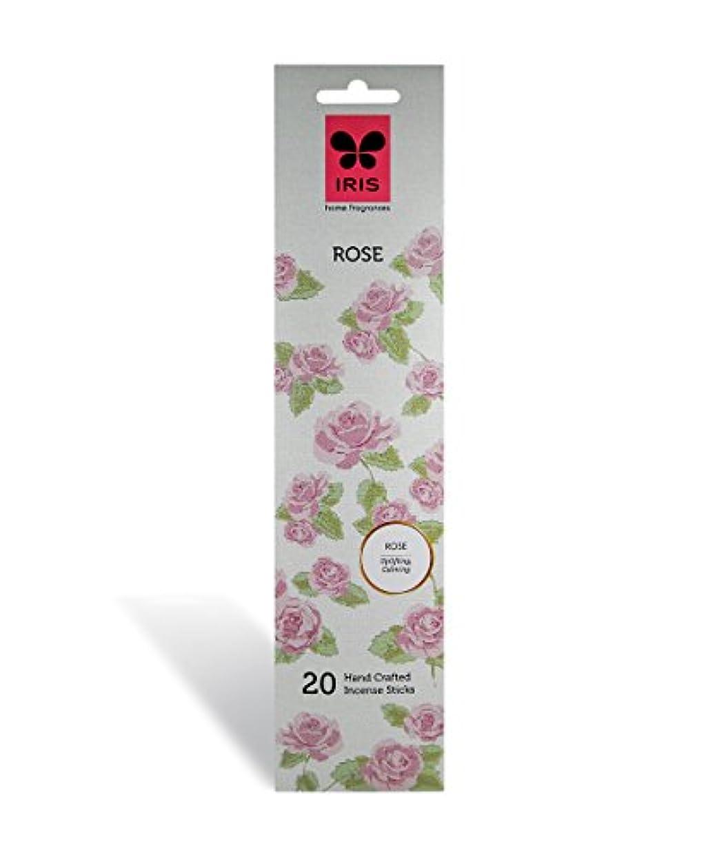 財政リズミカルな慈悲IRIS Signature Rose Fragrance Incense Sticks