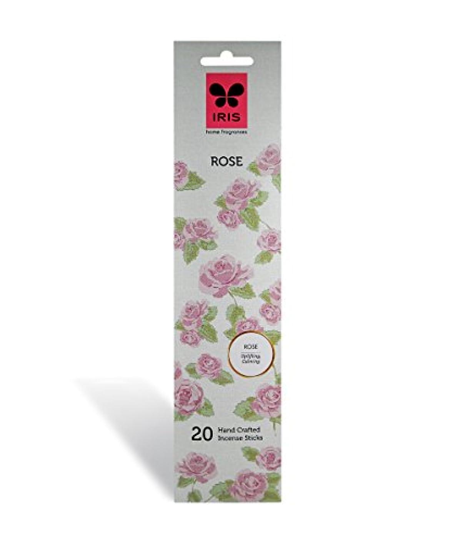 減らすバブルトレードIRIS Signature Rose Fragrance Incense Sticks