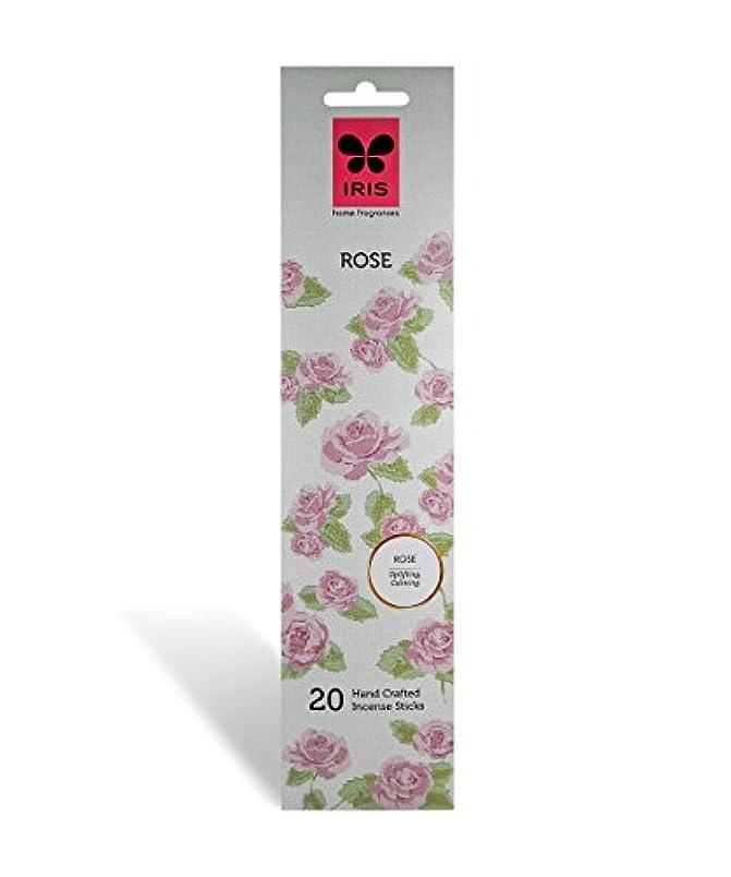 できない同種の急降下IRIS Signature Rose Fragrance Incense Sticks