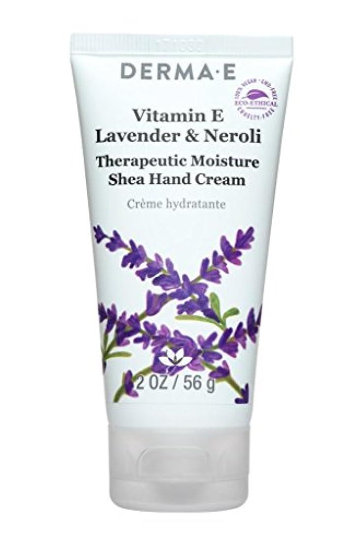 解任令状侮辱Derma E Vitamin E Lavender & Neroli Therapeutic Moisture Shea Hand Cream 56g/2oz並行輸入品
