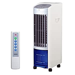 山善(YAMAZEN) 冷風扇(リモコン) タイマー付 ホワイトシルバー FCR-C405(WS)