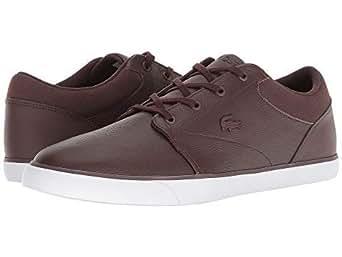 [LACOSTE(ラコステ)] メンズスニーカー・靴・シューズ Minzah 318 1 P Brown/White US 7 (25cm) M [並行輸入品]