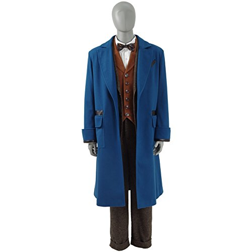 [SAKURA COS]冬 コスチューム用 長袖コート イベント 高品質 仮装 男女兼用 豪華セット  S-XLサイズ (M, 女性)