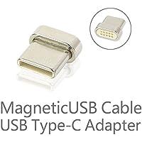磁石接続 マグネット式 USBケーブル専用 USB タイプC Type-C用端子 アダプター