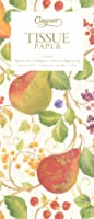 (Decorated Pears) - Entertaining with Caspari Decorated Pears Tissue Paper, Package of 4 Sheets