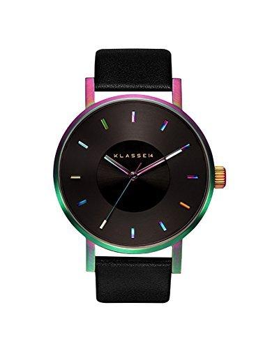 [クラス14]KLASSE14 腕時計 ウォッチ VOLARE 42mm レザーベルト シンプル ファッション レインボー メンズ レディース [並行輸入品]