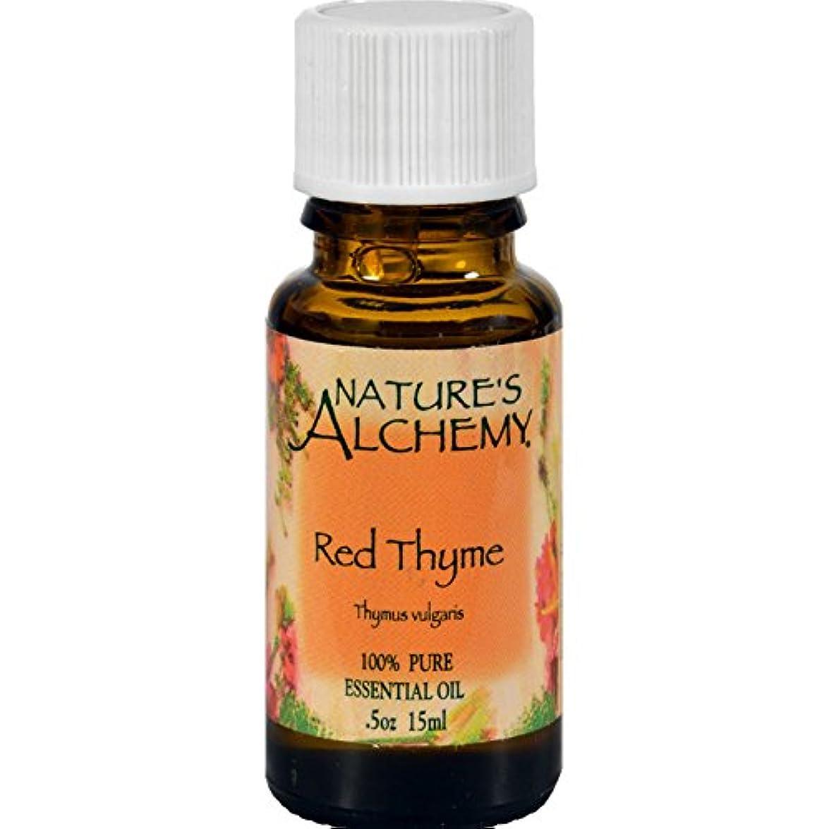 受ける拍手する無効100% Pure Essential Oil Red Thyme - 0.5 fl oz by Nature's Alchemy