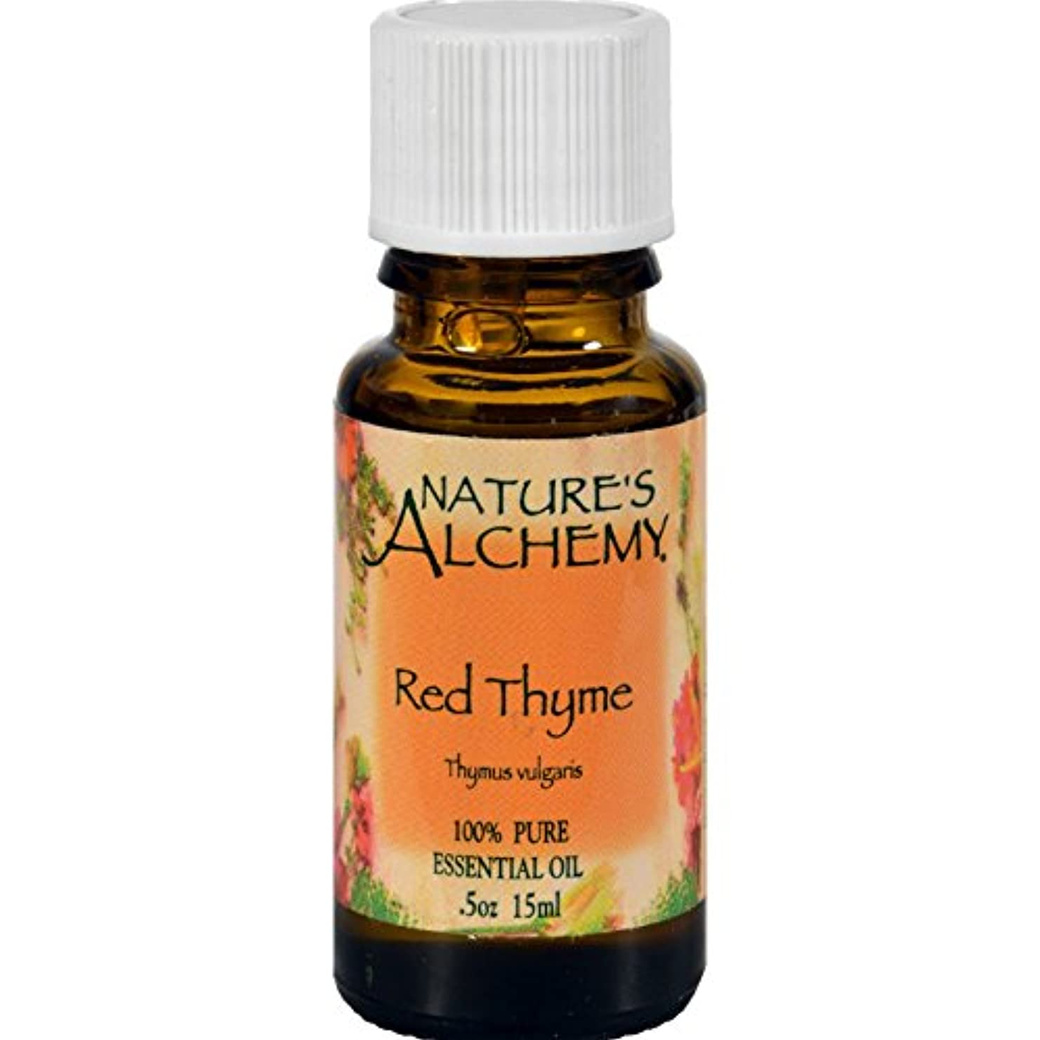ポジティブ配偶者考案する100% Pure Essential Oil Red Thyme - 0.5 fl oz by Nature's Alchemy