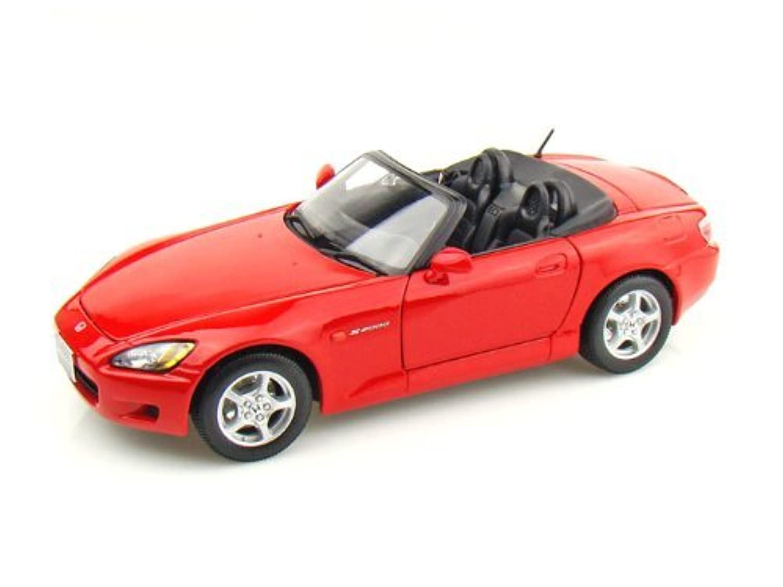 Maisto (マイスト) Honda S2000 1/18 Red MA31879-RD ミニカー ダイキャスト 自動車 (並行輸入)