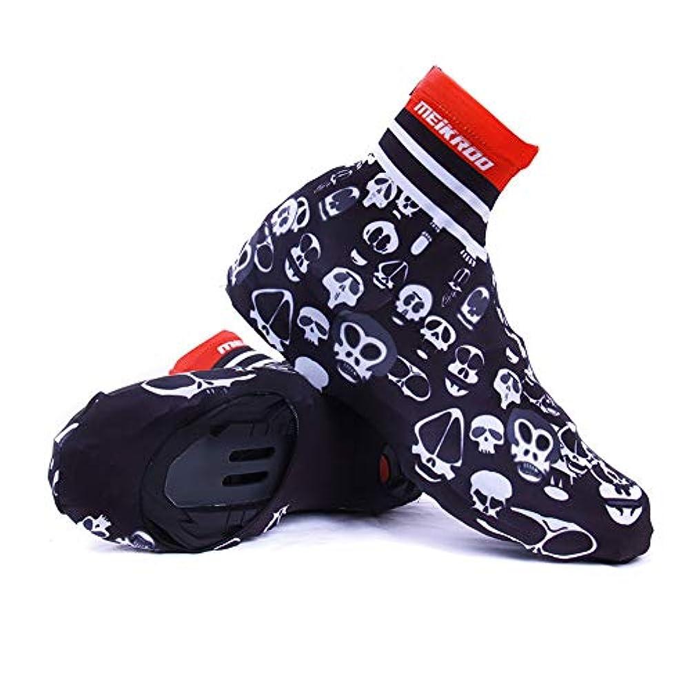日没気配りのあるチャンピオン防水靴カバー 自転車の靴カバー、防水レインブーツ靴カバー女性のための男性 - 黒アンチスリップ再利用可能な洗えるレインスノーブーツカバーバイクオートバイのブーツ靴カバーレインスーツ/ギアMTBバイクBi防水オーバーシューズ (サイズ : M 39-40)