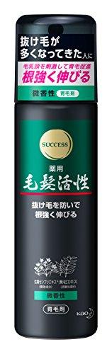 サクセス 薬用毛髪活性 微香性 185g -