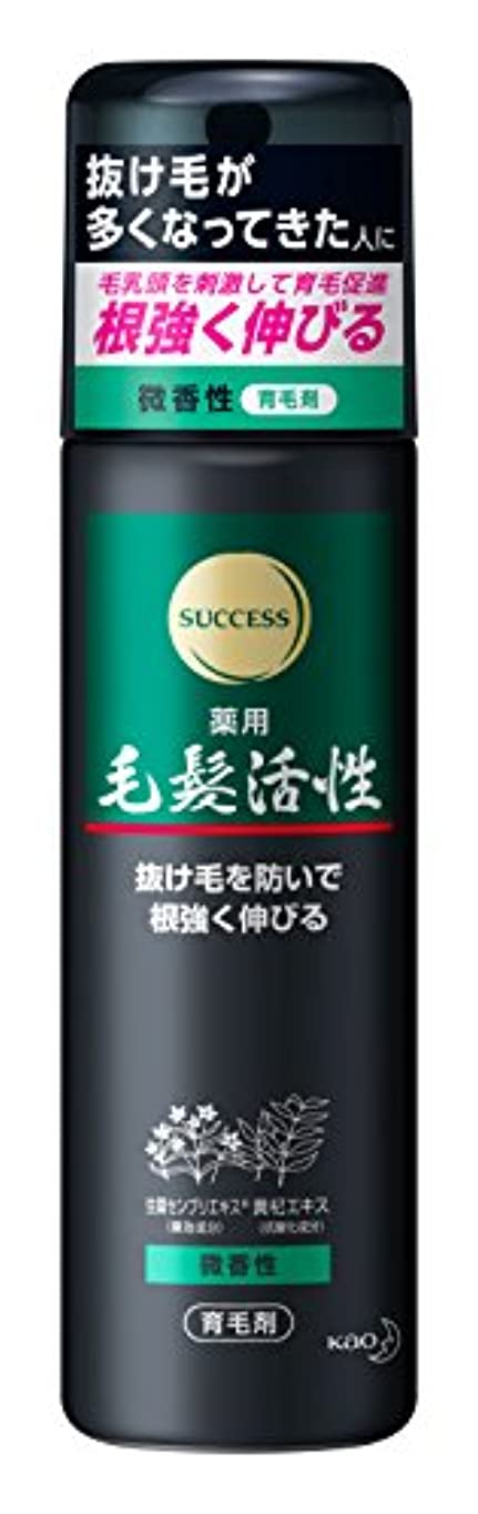 サクセス 薬用毛髪活性 微香性 185g [医薬部外品]