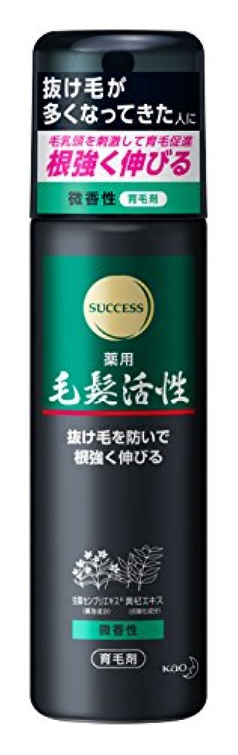 戦闘ハム浮浪者サクセス 薬用毛髪活性 微香性 185g [医薬部外品]