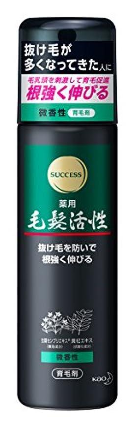マウス幸福ウェイトレスサクセス 薬用毛髪活性 微香性 185g [医薬部外品]
