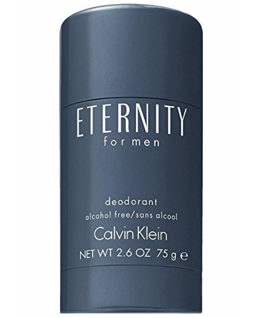 肉充実文言Eternity (エタニティー) 2.6 oz (75ml) Deodorant by Calvin Klein for Men