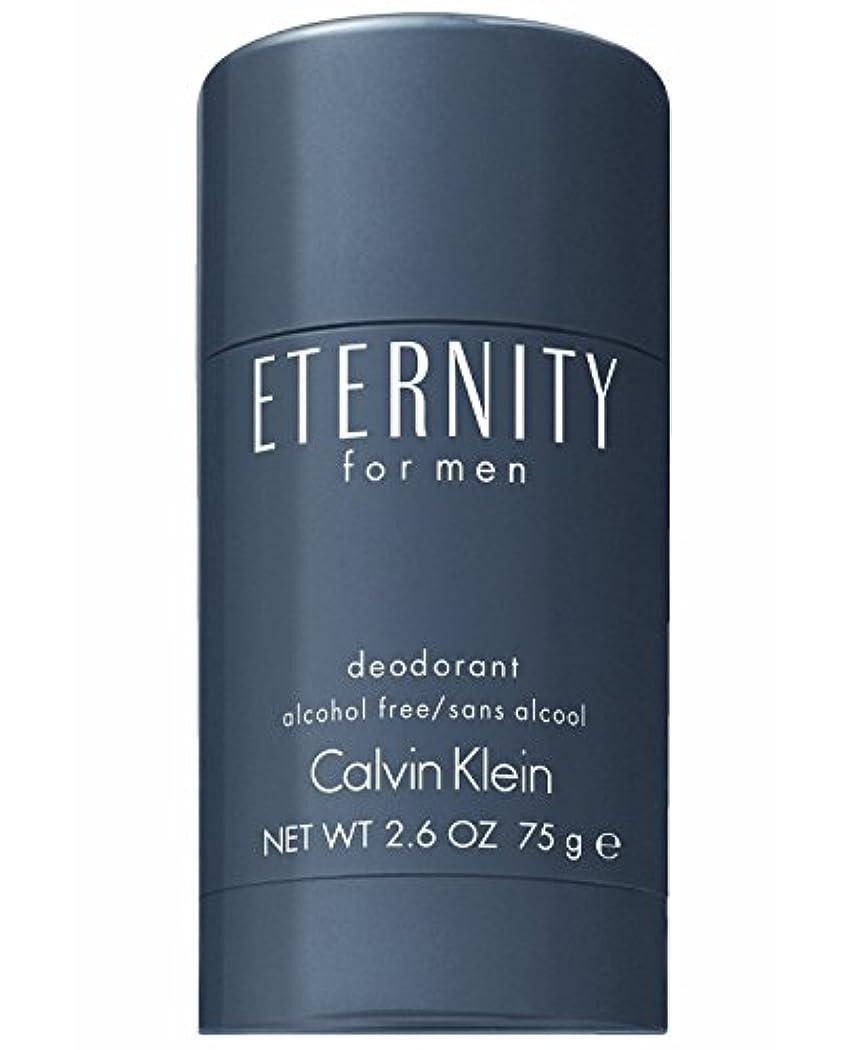国勢調査目指す寄り添うEternity (エタニティー) 2.6 oz (75ml) Deodorant by Calvin Klein for Men