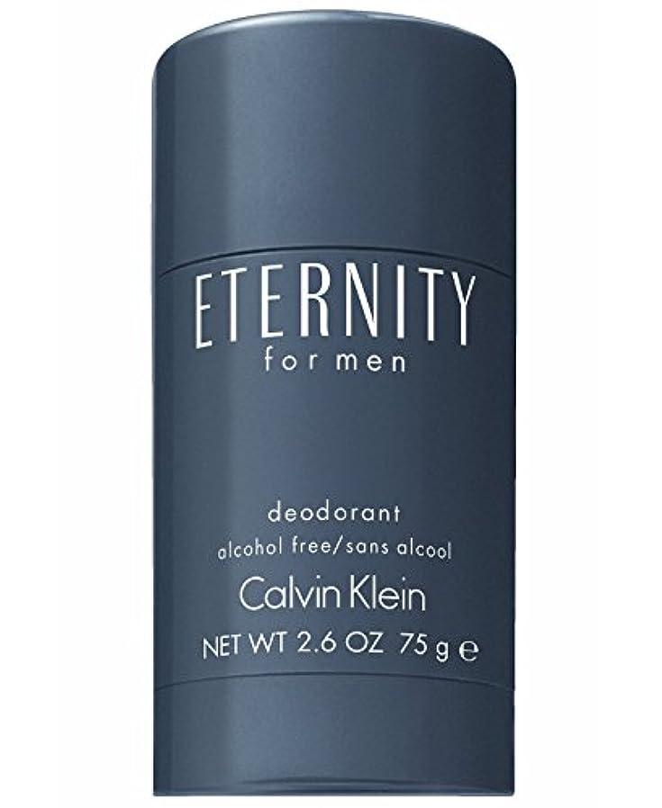 測るすずめ肥沃なEternity (エタニティー) 2.6 oz (75ml) Deodorant by Calvin Klein for Men