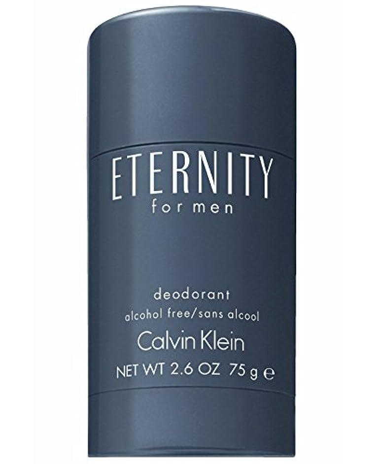 社員グレー充実Eternity (エタニティー) 2.6 oz (75ml) Deodorant by Calvin Klein for Men