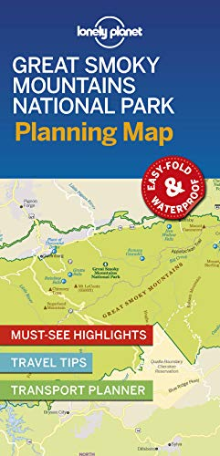 Download Lonely Planet Great Smoky Mountains National Park Planning Map (Planning Maps Planning Map) 1788685954